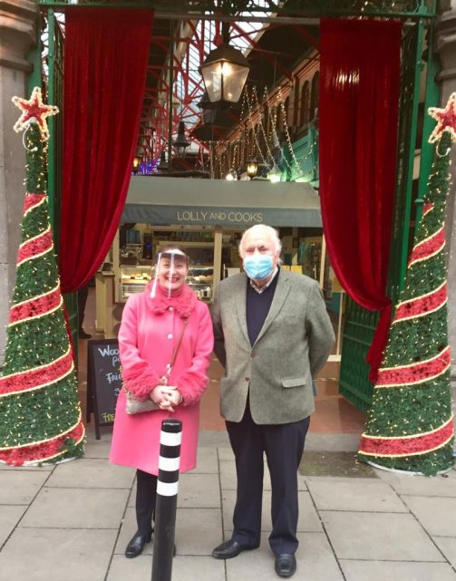 George's Street Arcade landlords: Joe and Gwen Layden